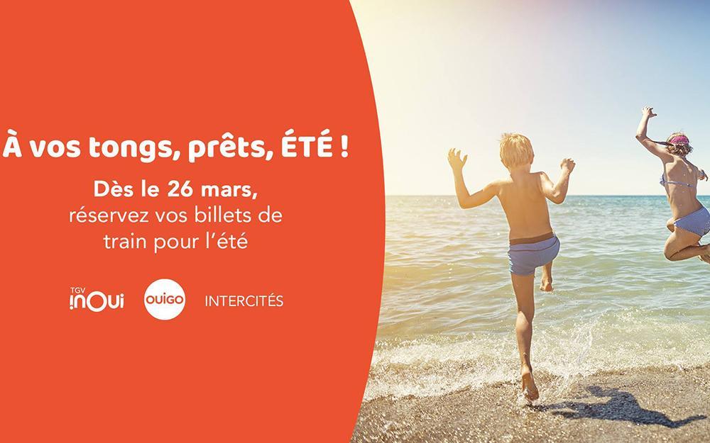 SNCF : réservez vos billets à prix réduit pour les vacances d'été 2019