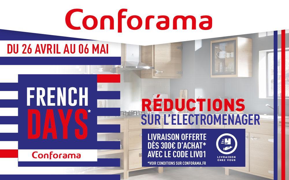 Carte Conforama Gratuite.French Days Conforama Les Bonnes Affaires Electromenager Le Parisien