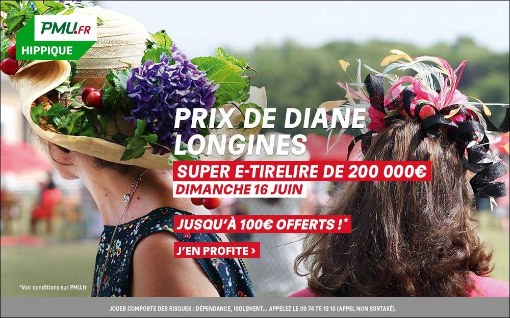 PMU.fr : profitez de jusqu'à 100 euros offerts