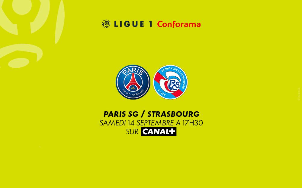 PSG - Strasbourg : regardez le match sur Canal+ avec le 1er mois offert