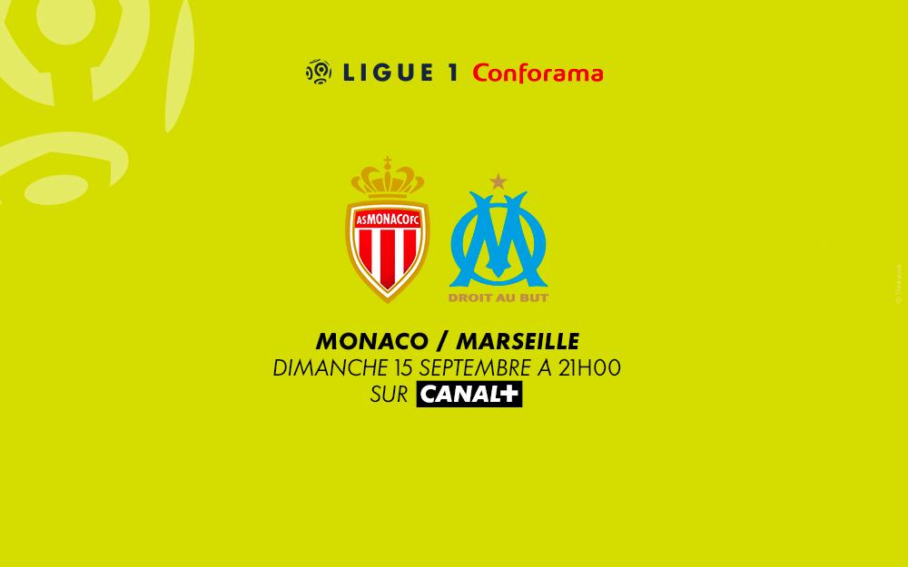 Monaco - Marseille sur Canal+ avec le 1er mois offert