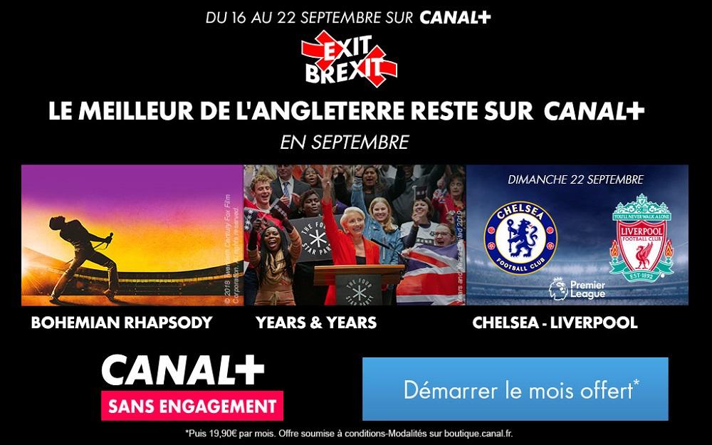 Canal+ : découvrez les offres fan de foot !