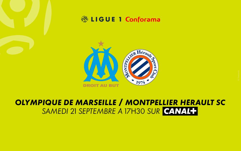 Marseille - Montpellier : regardez le match sur Canal+