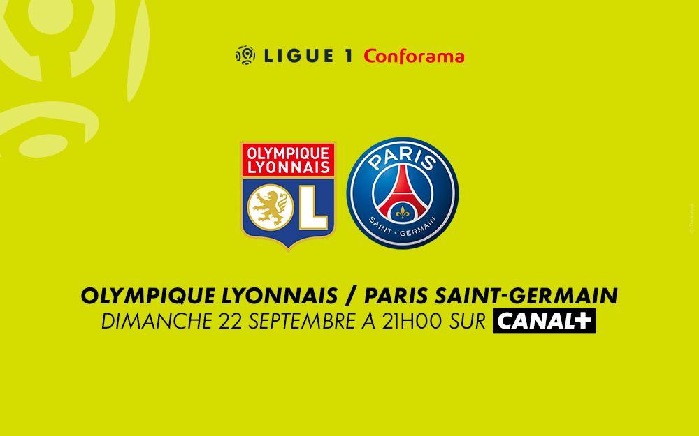 Lyon - PSG : regardez le match sur Canal+ avec le 1er mois offert