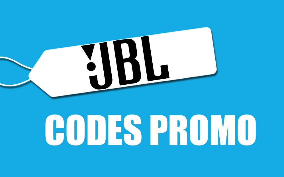 JBL : -7% grâce à un code promo