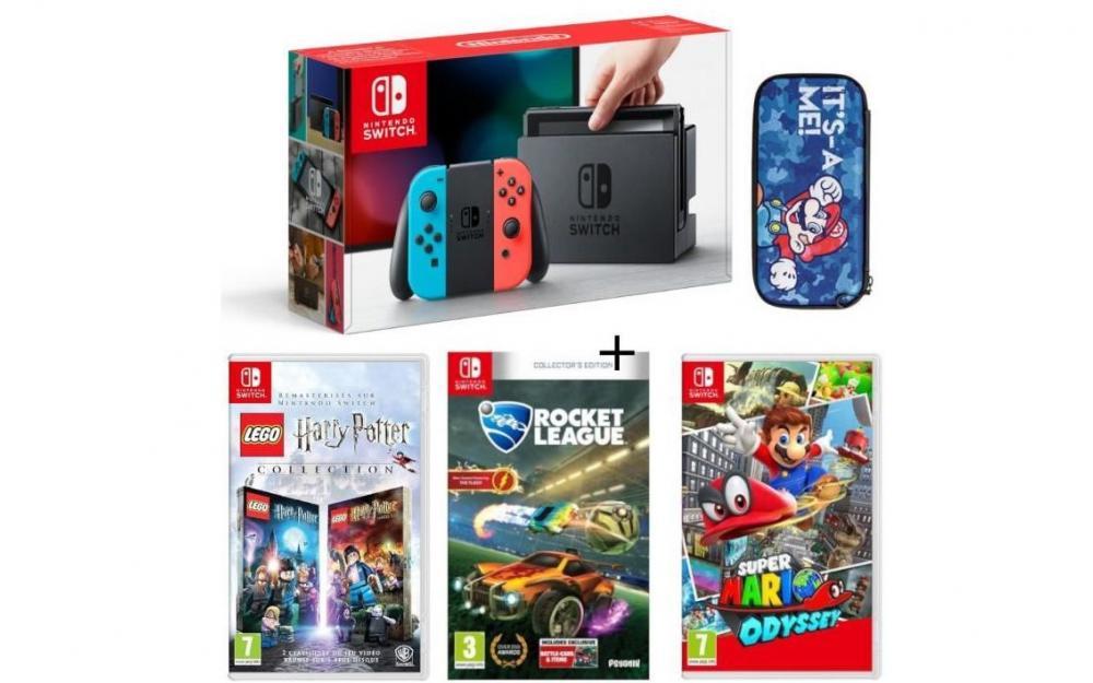 console de jeux nintendo switch jeux