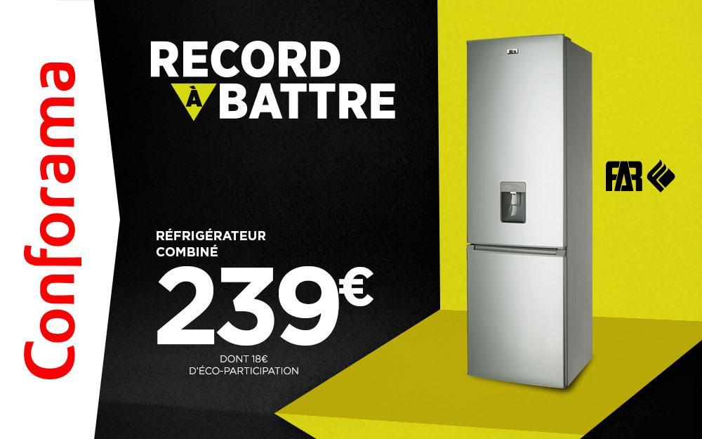 Carte Conforama Livraison.Bon Plan Conforama Un Refrigerateur Combine Far A