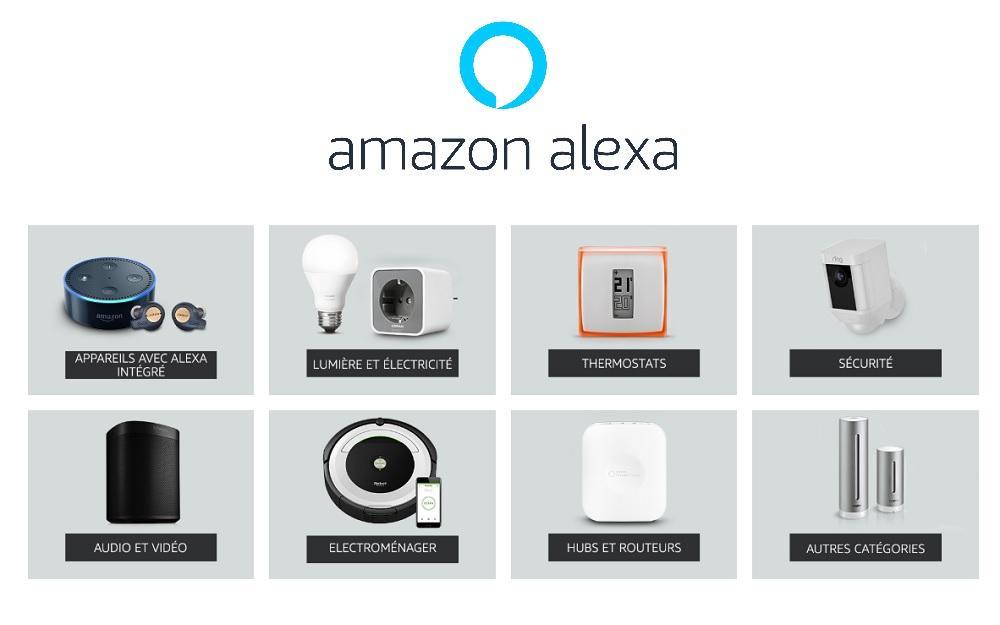 3bce922846931 Amazon Alexa : des promos sur tous les appareils compatibles - Le ...
